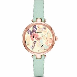 NWT Kate Spade Holland Butterfly Graphic Watch, 34